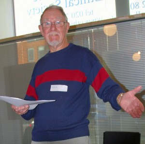 David Cobb hosting his 'disjunction' workshop