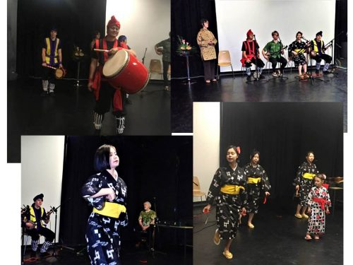 folk songs and dances from Okinawa and Akita led by David Hughes