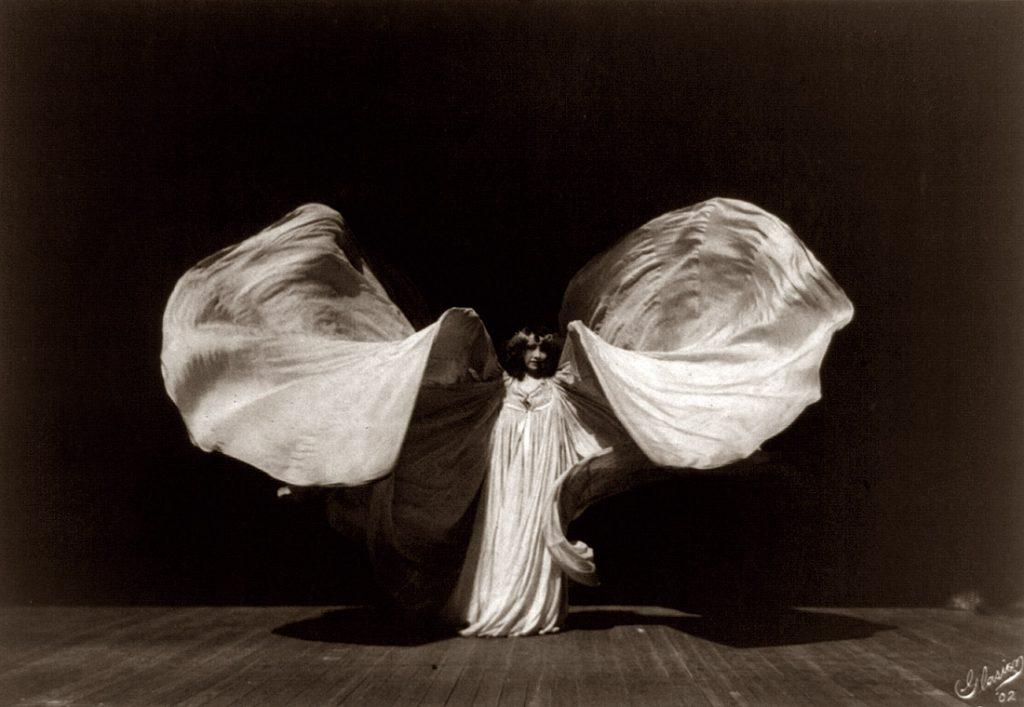 Portrait of Loie Fuller by Frederick Glasier, 1902